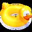 Flotador Pato Icono
