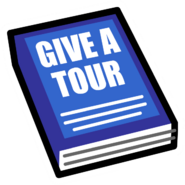 Give a Tour icon