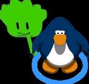 Globo de Puffle Verde juego