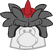 Gorro de Puffle T-Rex icono