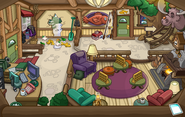 Puffle Party 2015 Ski Lodge