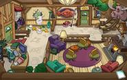Puffle Party 2015 Ski Lodge