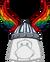 Casco con Alitas Multicolor icono