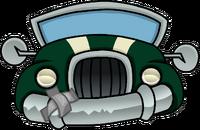 Coche Verde icono