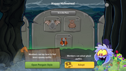 Halloween Party 2016 app interface page 7