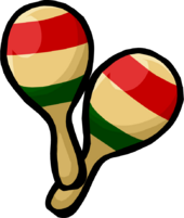 Pair of Maracas clothing icon ID 335