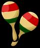 Pair of Maracas clothing icon ID 335