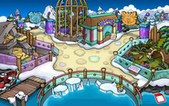 Puffle Party 2016 Dock