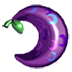 Purple berry icon