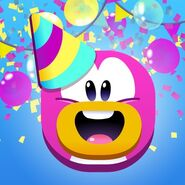 1er Aniversario ICP Twitter icono
