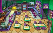 Cafeteria fiesta de puffles
