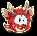 Red deer selected