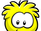 Yellow Puffle Pin