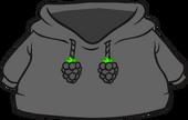 Black O'berry Hoodie icon