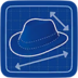 Blueprint More-a-Fedora icon