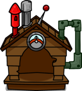 Brown Puffle House ID 665 sprite 001