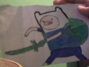 Dibujo Finn