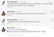 Marvel Tweet Polo 2013