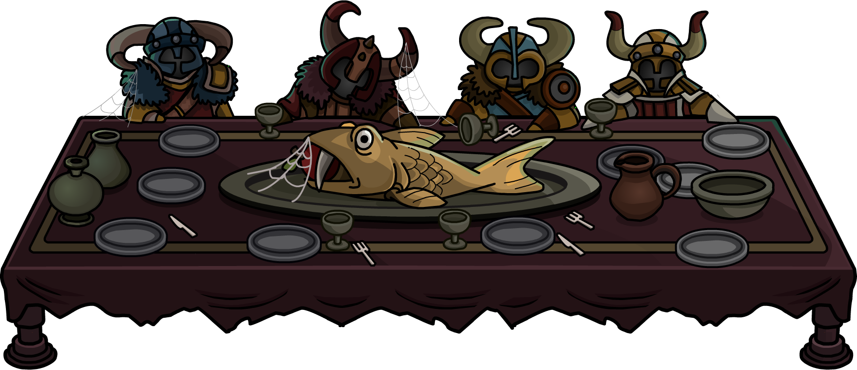 image rh quest 2012 viking hall no spoon png club penguin wiki