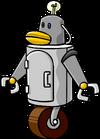 Robot puffle molde 1