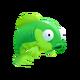 Botín de pesca Mullet aleta verde