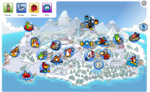 ClubPenguinMapNavigation2014Games