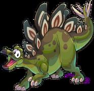 Estegosaurio Verde