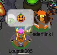 Loustik005 y Federflink1 disfrazados
