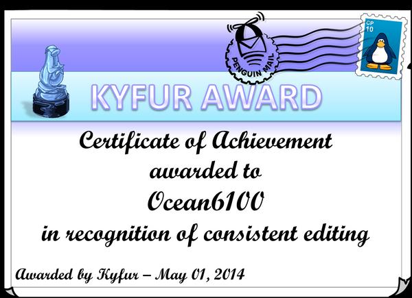 Ocean6100Award