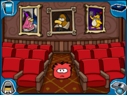 Red puffle Stage