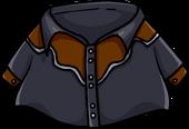 Black Cowboy Shirt clothing icon ID 843