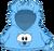 Cangurito de Border Collie Celeste icono