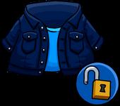 Dark demin jacket