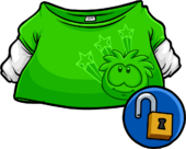 Green Skater Shirt