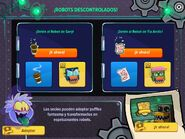 Interfaz fiesta de noche de brujas 2015 app1