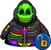 Neon Skeleton Hoodie