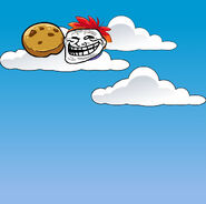 Rainbow Puffle Stole My Cookie