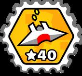Astro40 stamp