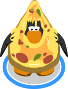 Extra Cheesy Costume in-game