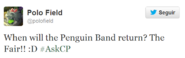 Penguin band confirmacion