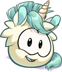 Puffle Unicornio