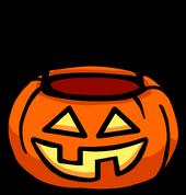 Pumpkin basket icon 0