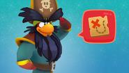 Rockhopper Mapa del tesoro La caja fuerte pingüilante