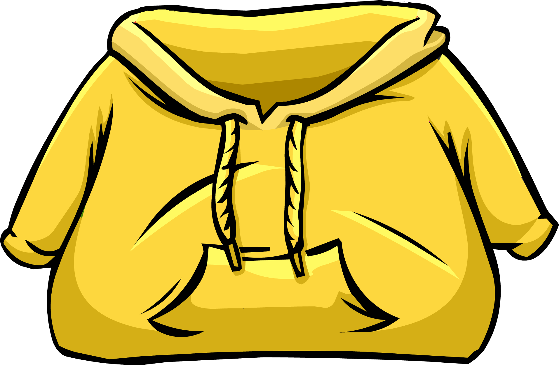 Image result for club penguin yellow hoodie png