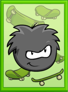 Black Puffle Poster sprite 002