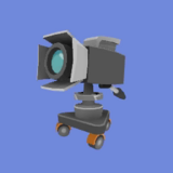 Cámara de TV Icono