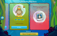 Finding Dory Party interface page 5