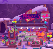 Franky's exterior Rainbow Celebration