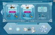 Frozen portada 3 interfaz de copos