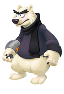 Herbert P. Bear CPI pose